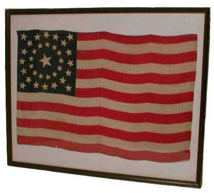 Antique Us Flag Essment Guidelines